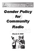 Gender Policy for Community Radio