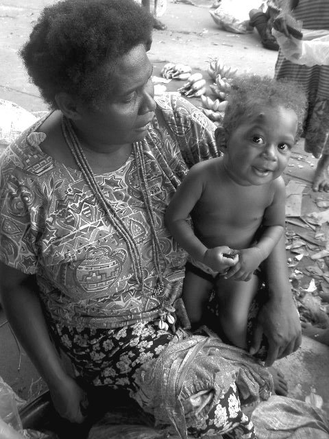A woman from the solomon Islands
