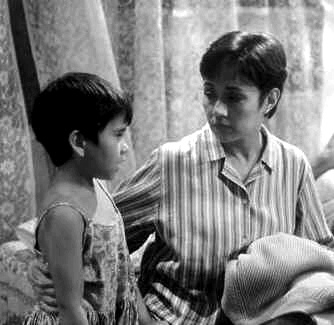 "A scene from the critically- acclaimed movie ""Bata, Bata Paano Ka Ginawa?"" (also known as ""Lea's Story"" in English), which was based on the novel of the same title by feminist writer Lualhati Bautista. The film was produced by Star Cinema."