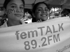 femTALK 89.2 is a space for women on the airwaves of Fiji. Photo from femLINKPACIFIC